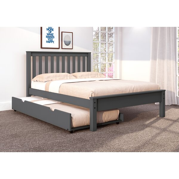 Coke Platform Bed with Trundle by Harriet Bee