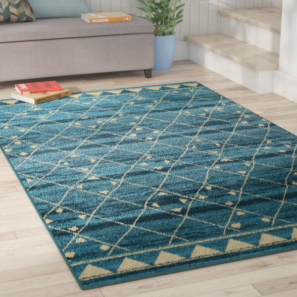 Briella Blue Area Rug by Zipcode Design