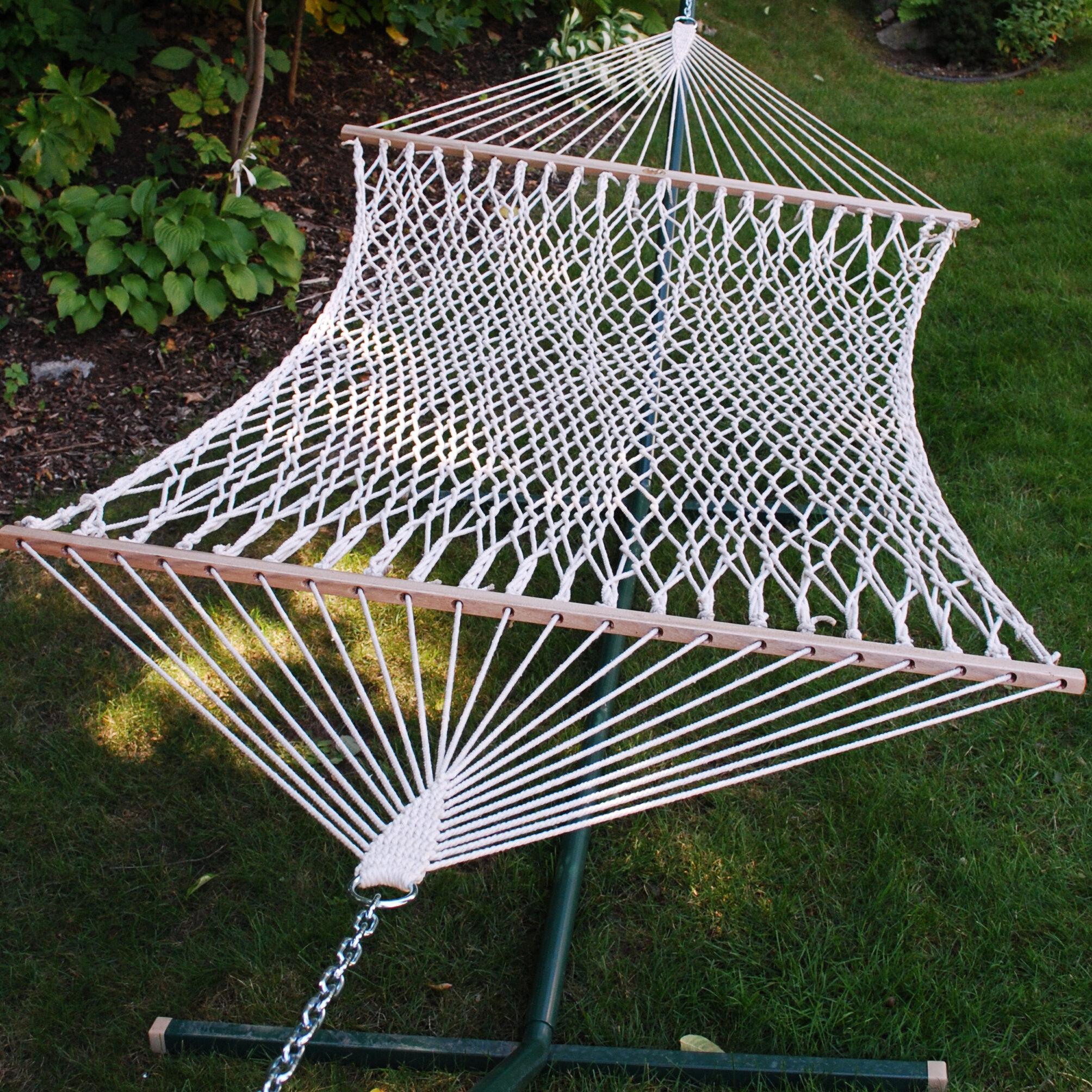 stand hammock hammocks cotton reviews outdoor hangers wayfair pdx with vivere