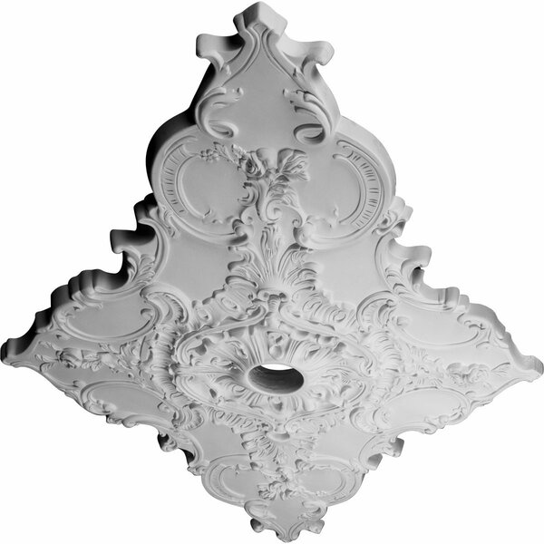 Melchor Diamond 43 3/8H x 67 1/4W x 2D Ceiling Medallion by Ekena Millwork