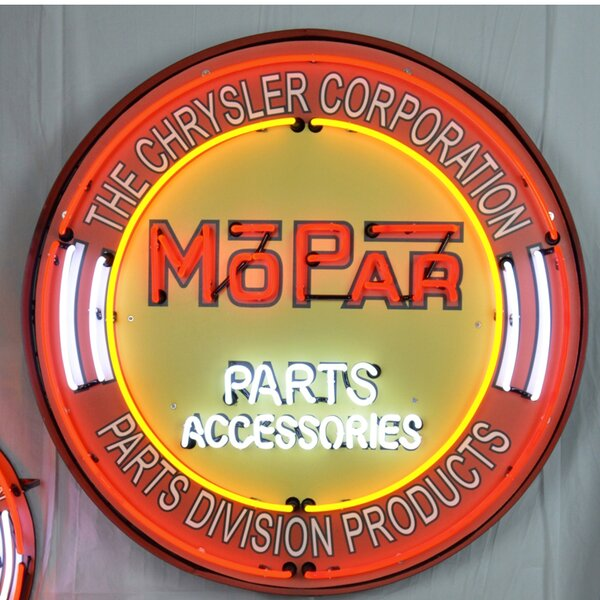 Mopar Neon Sign by Neonetics