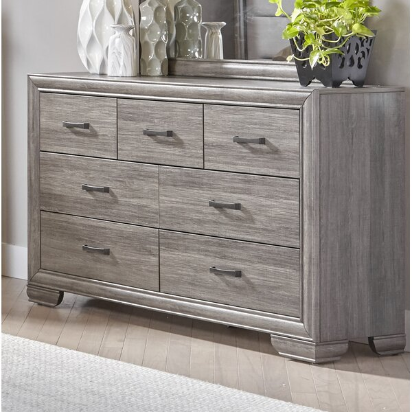 Chicora 7 Drawer Double Dresser by Ophelia & Co.