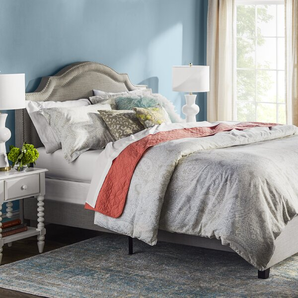 Avanley Upholstered Standard Bed by Willa Arlo Interiors