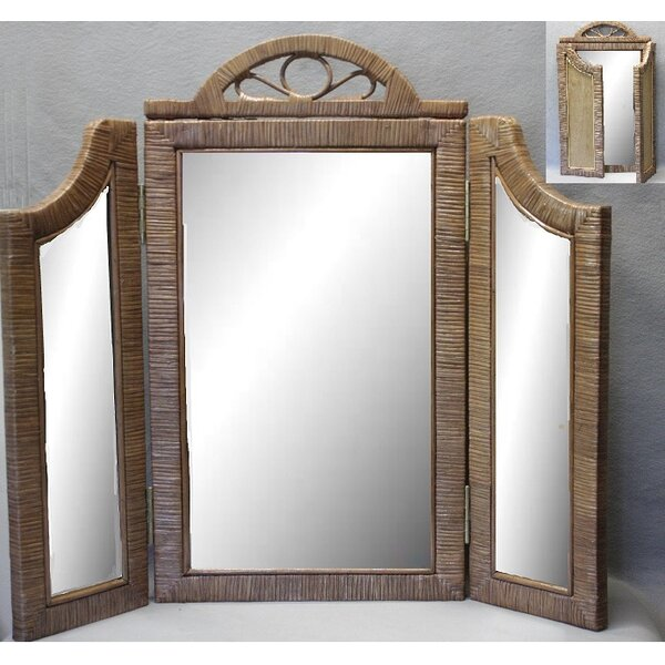 Eastlake 3 Panel Accent Mirror by August Grove
