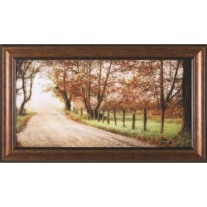 Fog Ahead by D. Burt Framed Painting Print by Art Effects
