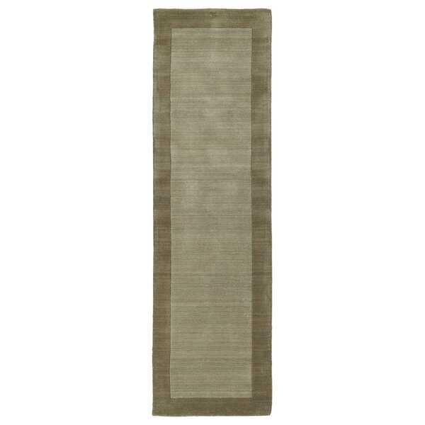 Barnard Hand Woven Wool Taupe Area Rug by Red Barrel Studio