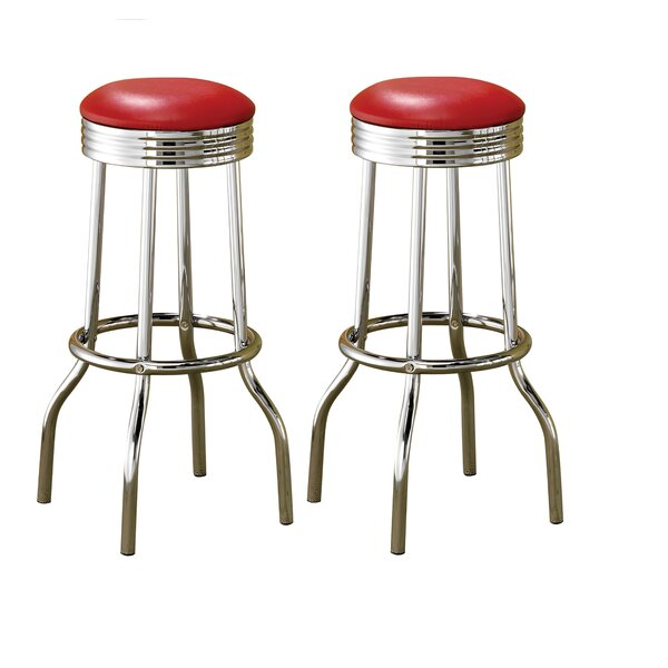 Hagert 29 Bar Stool (Set of 2) by Wrought Studio