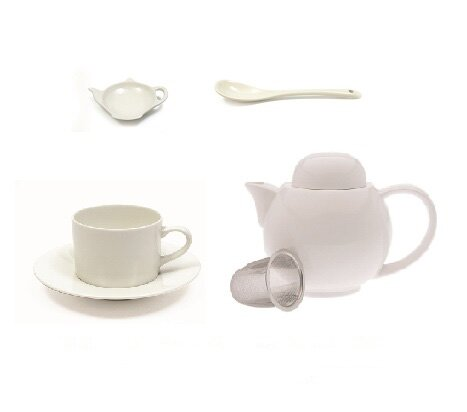 18 Piece Teapot Kettle Set by Maxwell & Williams