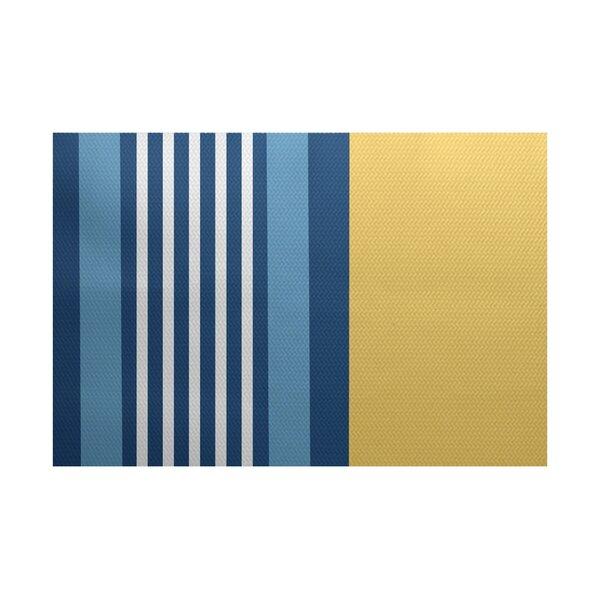 Bartow Yellow/Blue Indoor/Outdoor Area Rug by Breakwater Bay