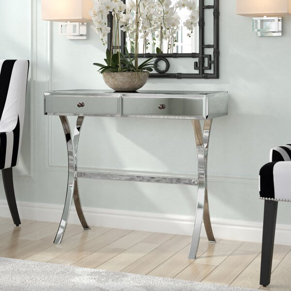 Allums 35.5-inch Console Table by Willa Arlo Interiors Willa Arlo Interiors