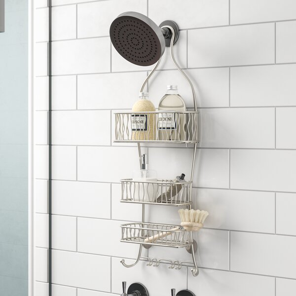 Squiggle Shower Caddy by Rebrilliant
