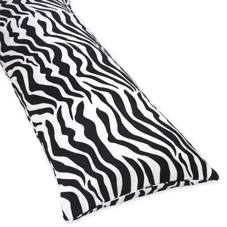 Zebra Cotton Body Pillow Case by Sweet Jojo Designs