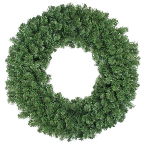 Colorado 36 Pine Artificial Christmas Wreath with Unlit by The Holiday Aisle