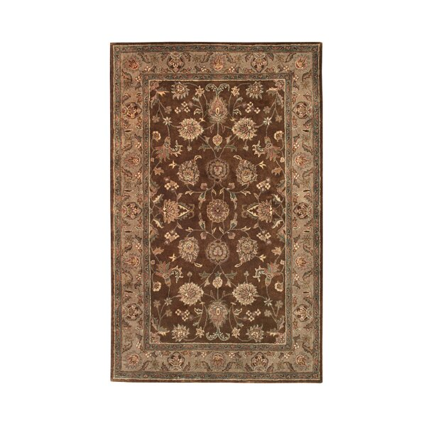 Vintage Brown/Camel Rug by Noble House