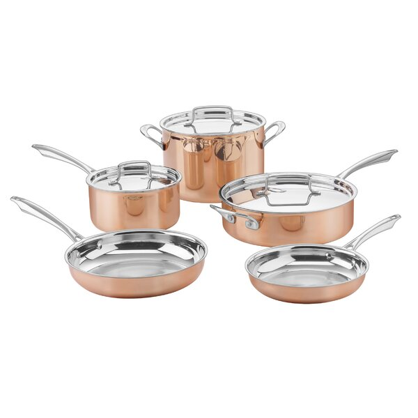 8-Piece Tri-Ply Cookware Set by Cuisinart