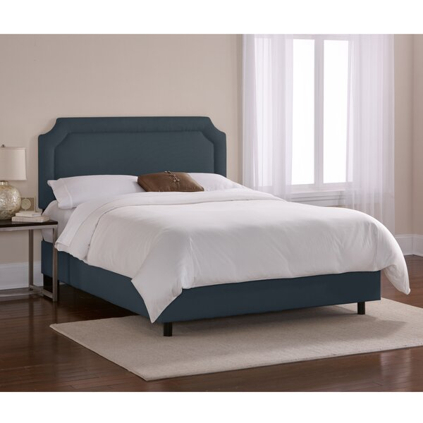 Chambers Upholstered Standard Bed by Skyline Furniture
