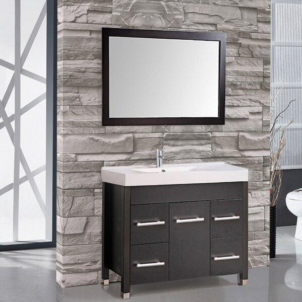 Prager 36 Single Sink Bathroom Vanity Set with Mirror by Orren Ellis