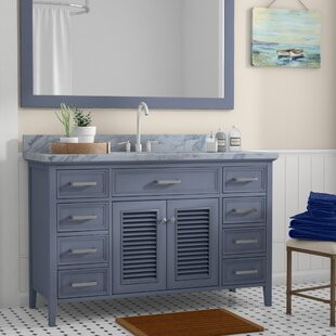 Find for Hamil 55 Single Bathroom Vanity with Mirror By Highland Dunes