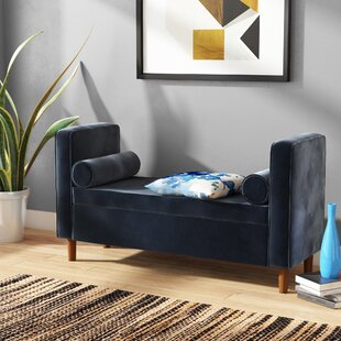 Lathan Upholstered Storage Bench by Wrought Studio