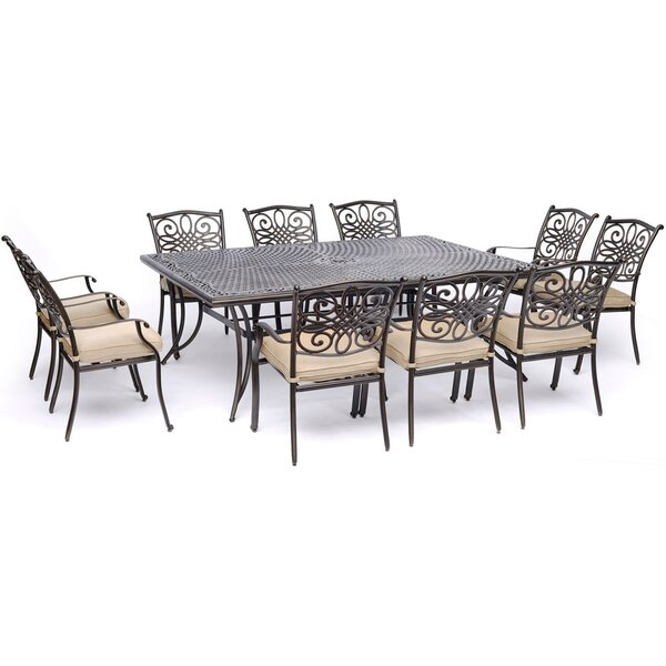 Rhoton Traditions 11 Piece Dining Set by Astoria Grand