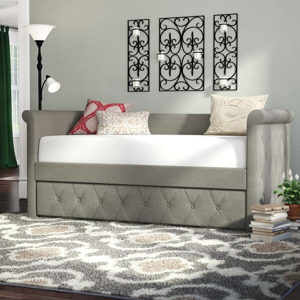 Bostrom Twin Daybed with Trundle by Canora Grey