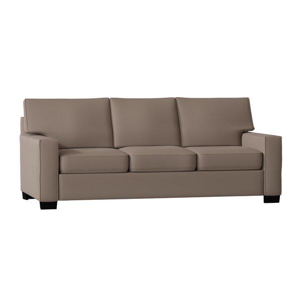 Fullerton Square Arm Sofa by Poshbin
