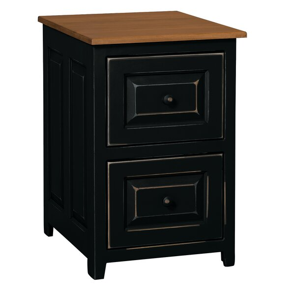 Haystack 2-Drawer Vertical File by August Grove