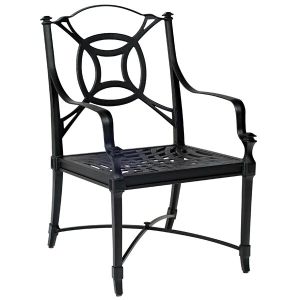 Isla Patio Dining Chair with Cushions by Woodard Woodard