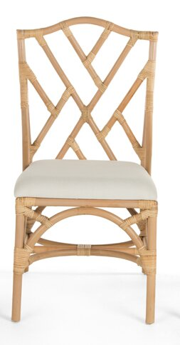 Margrett Rattan Side Chair (Set of 2) by Bayou Breeze