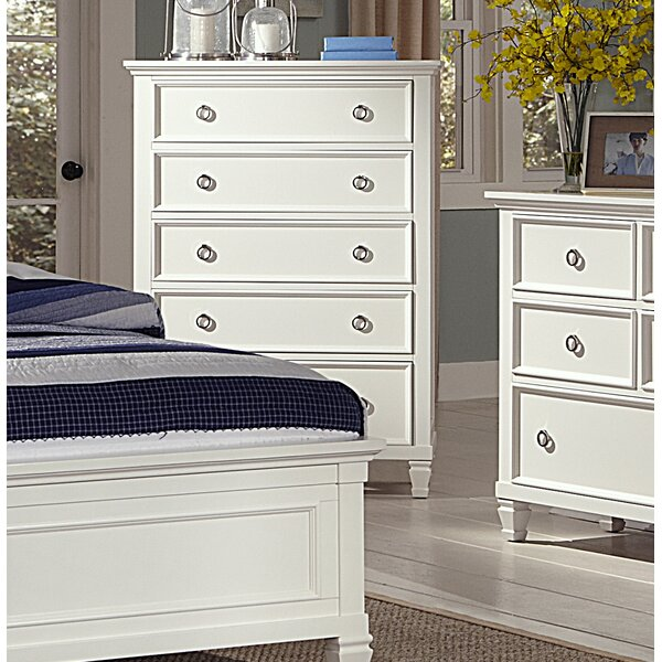 Freeport 5 Drawer Chest by Alcott Hill