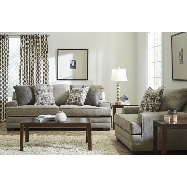 Annabelle Sleeper Configurable Living Room Set by Highland Dunes