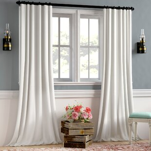 Linen Bedroom Curtains | Wayfair