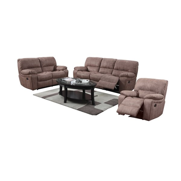 Banner Leather Reclining Sofa by Wildon Home ®