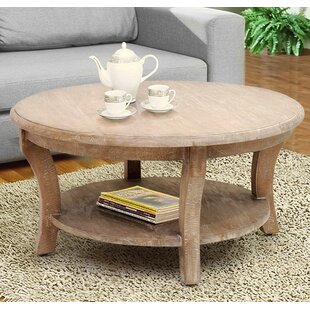 Kensington Coffee Table with Magazine Rack Casual Elements