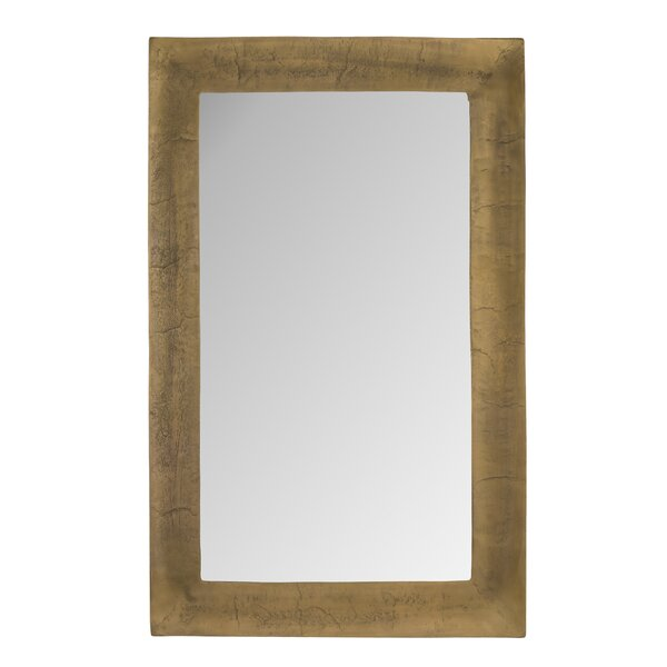Aluminum Accent Mirror by Everly Quinn