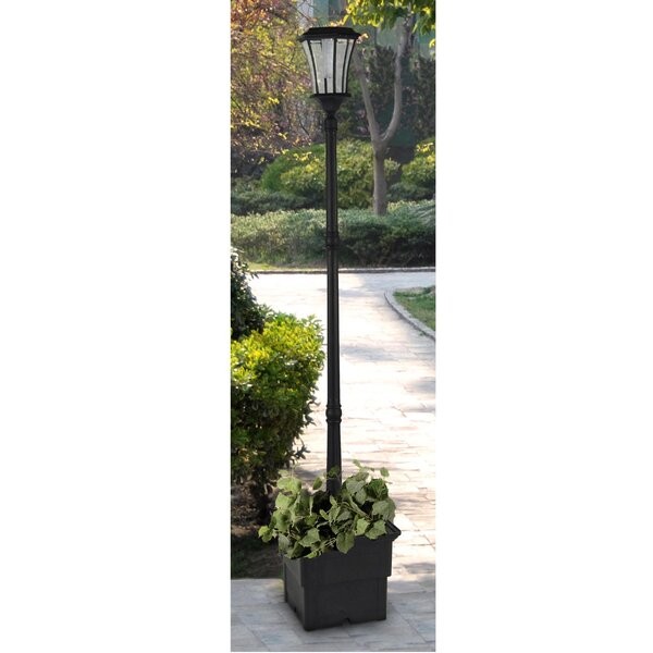 Wharton Solar Lamp 1-Light LED 83.46 Post Light by Darby Home Co