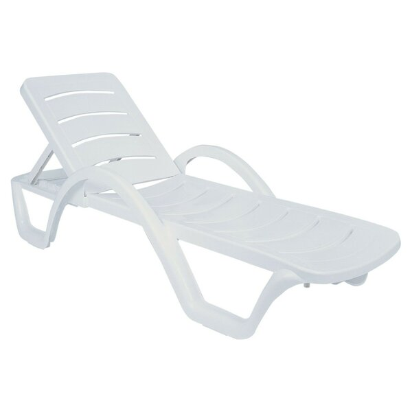 Snake River Sun Reclining Chaise Lounge (Set of 4) by Red Barrel Studio