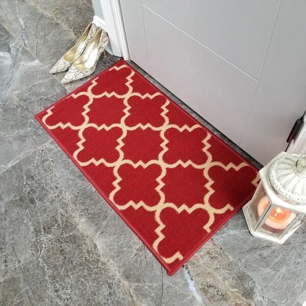 Beauchamp Square Moroccan Trellis Doormat by Andover Mills