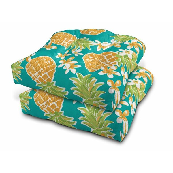 Eco Friendly Indoor/Outdoor Bench Cushion (Set of 2) by Bay Isle Home