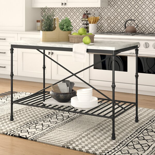 Lisa Kitchen Island By Laurel Foundry Modern Farmhouse Herry Up