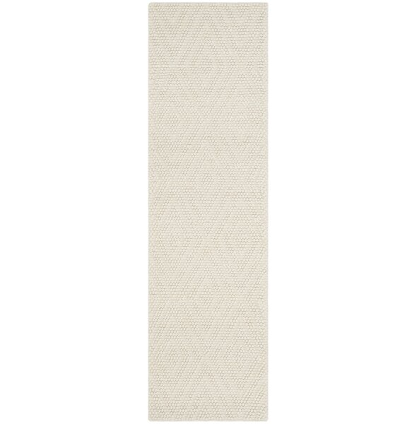 Bathild Hand-Tufted Ivory Area Rug by Darby Home Co