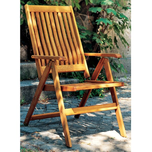 Riviera Folding Patio Dining Chair By Haste Garden