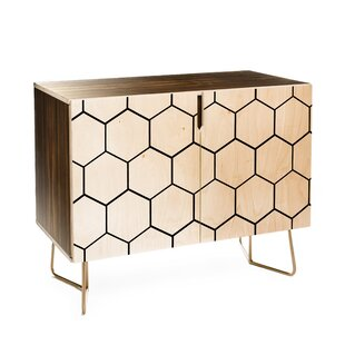 Honey Comb 2 Doors Accent Cabinet By East Urban Home
