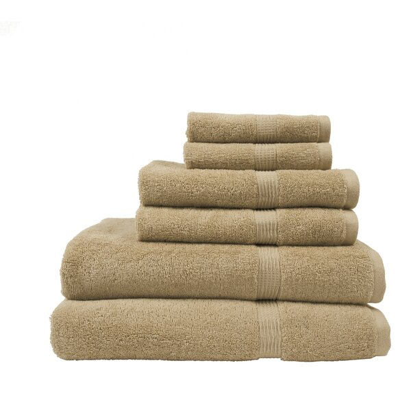 Manuel 6 Piece Bath Towel Set by Alcott Hill