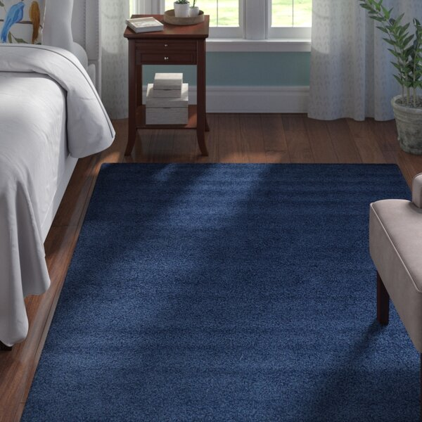 Falmouth Navy Blue Area Rug By Andover Mills.