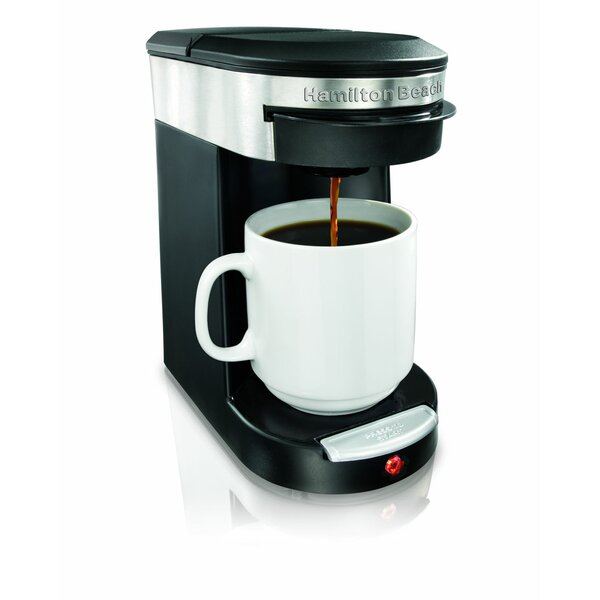 Personal One Cup Pod Brewer by Hamilton Beach