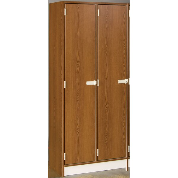 1 Tier 2 Wide School Locker by Stevens ID Systems