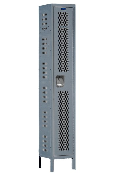 Heavy Duty 1 Tier 1 Wide School Locker by Hallowell