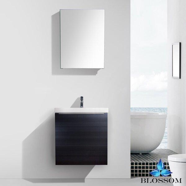 Maness 24 Single Bathroom Vanity Set with Mirror by Orren Ellis