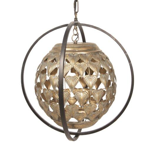 Feinberg 1-Light Globe Pendant Bay Isle Home